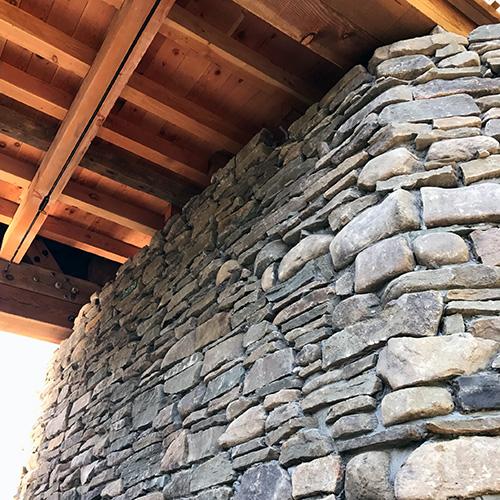 Stone Bridge Abutment Sullivan County Beaverkill
