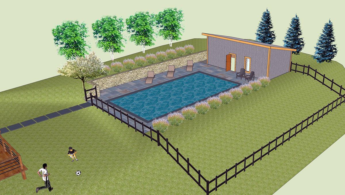 Landscape Pool Design Sullivan County NY