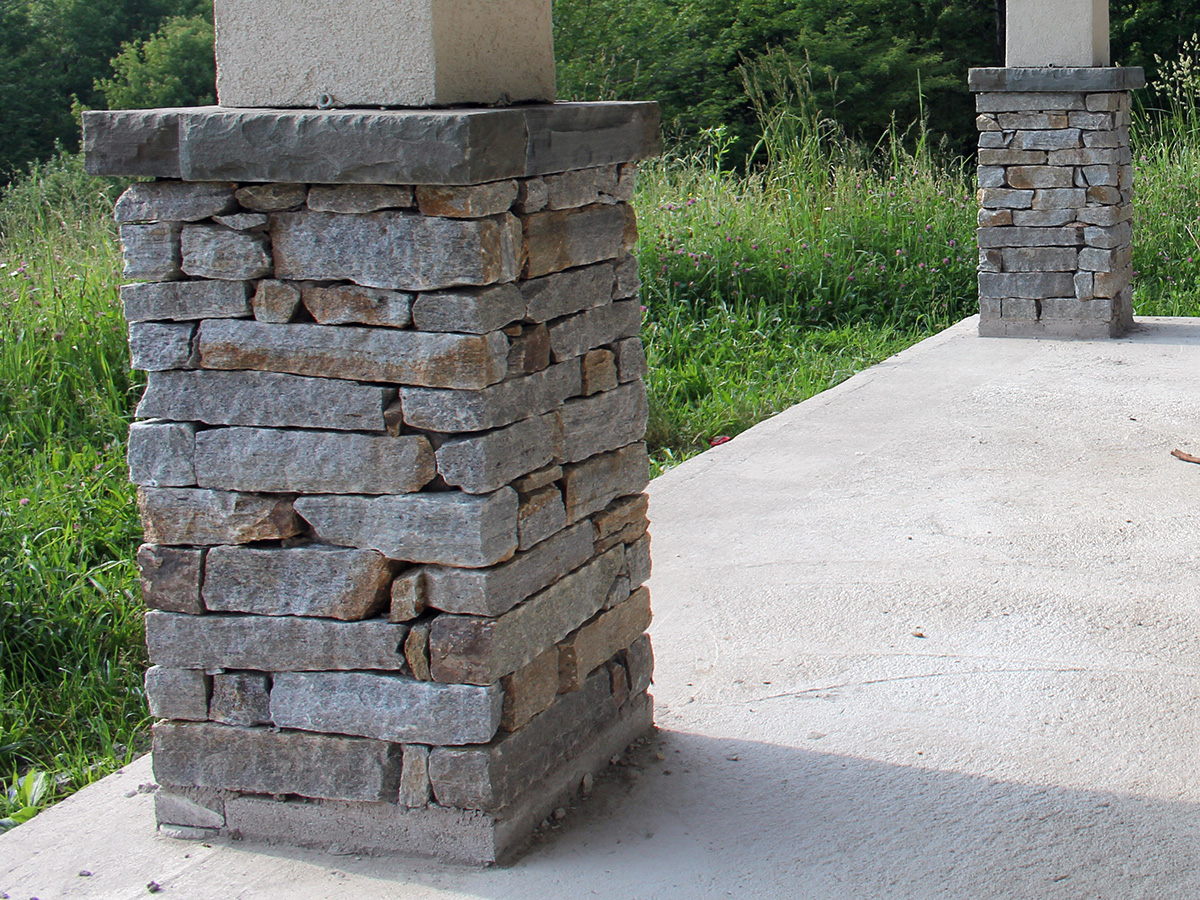 Stone Columns Design : Columns kelly masonry design inc
