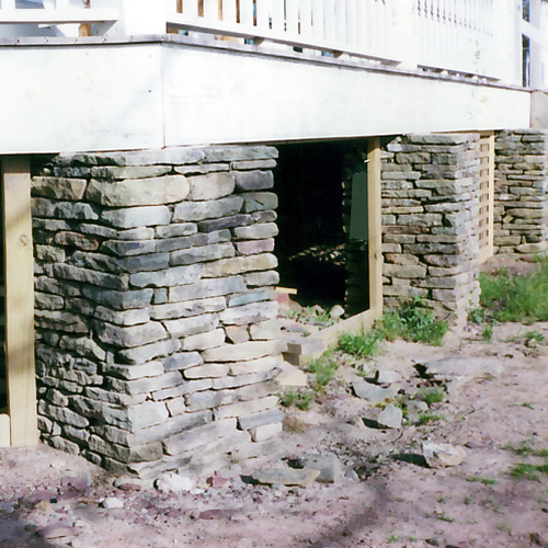 Base Column Stone Veneer Sullivan County NY