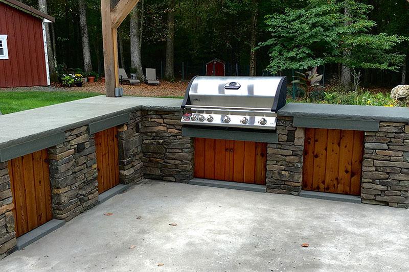 Kelly Masonry Outdoor Kitchens Sullivan County