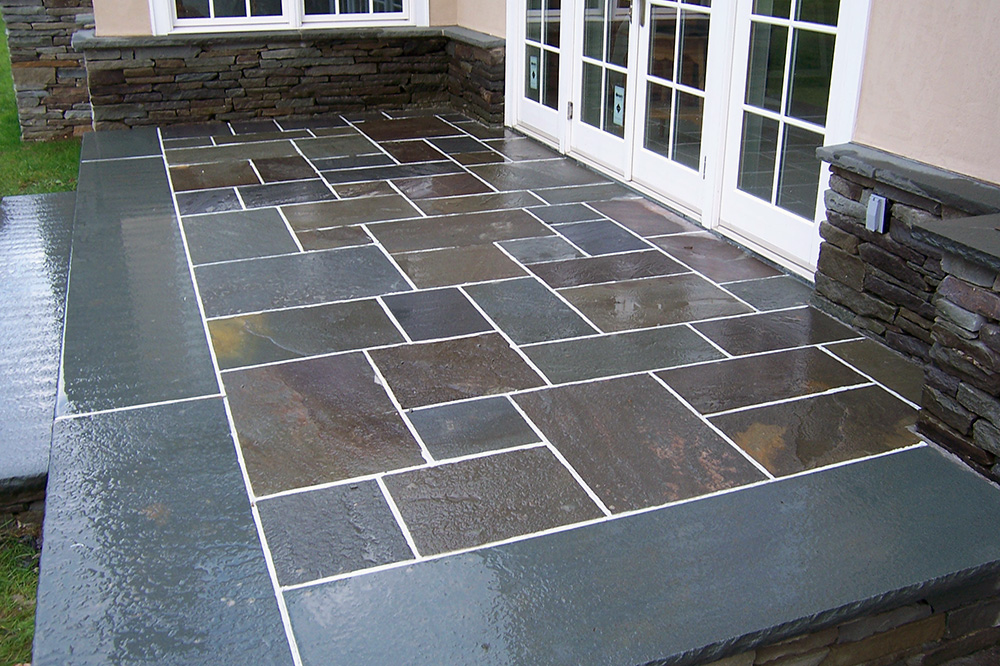 Bluestone Patio Design Sullivan County NY