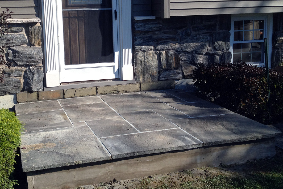Bluestone Entrance Patio Sullivan County NY