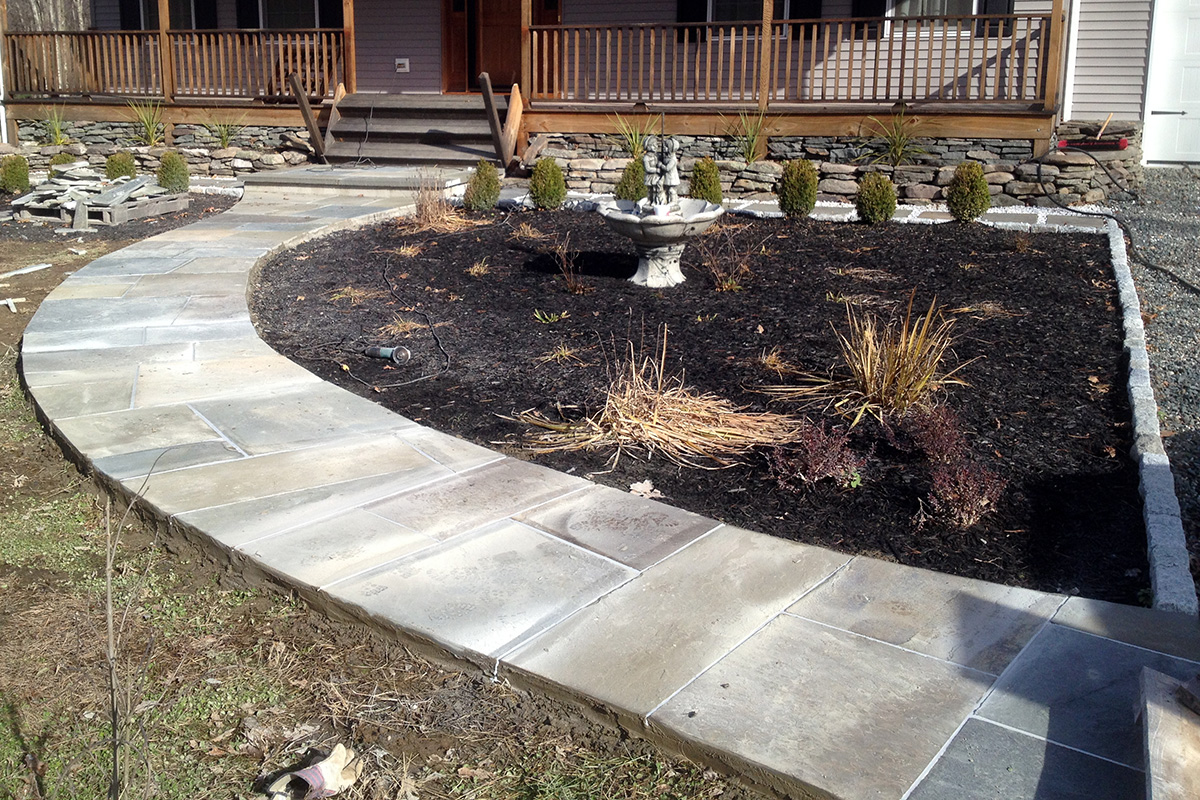 Bluestone Walkway Orange County NY