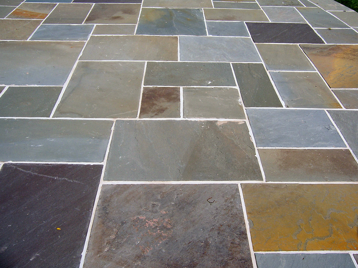 Bluestone Patio Multi-Colored Sullivan County NY