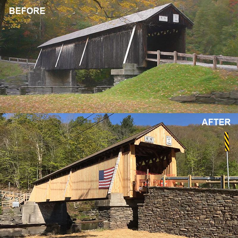 Beaverkill Bridge Restoration Sullivan County NY