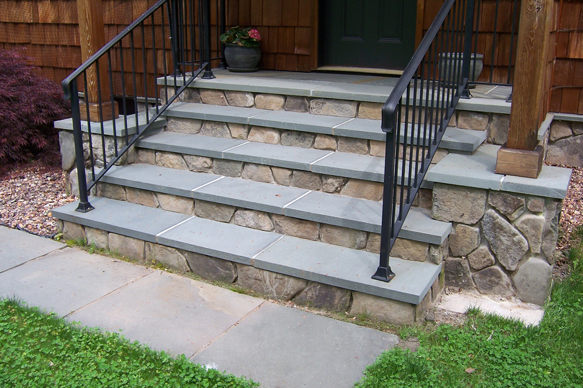 Bluestone Steps Entry To Home Bethel NY Sullivan County NY