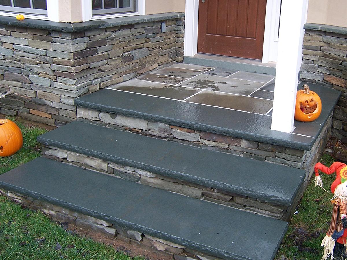 Rustic Stone Steps Sullivan County NY