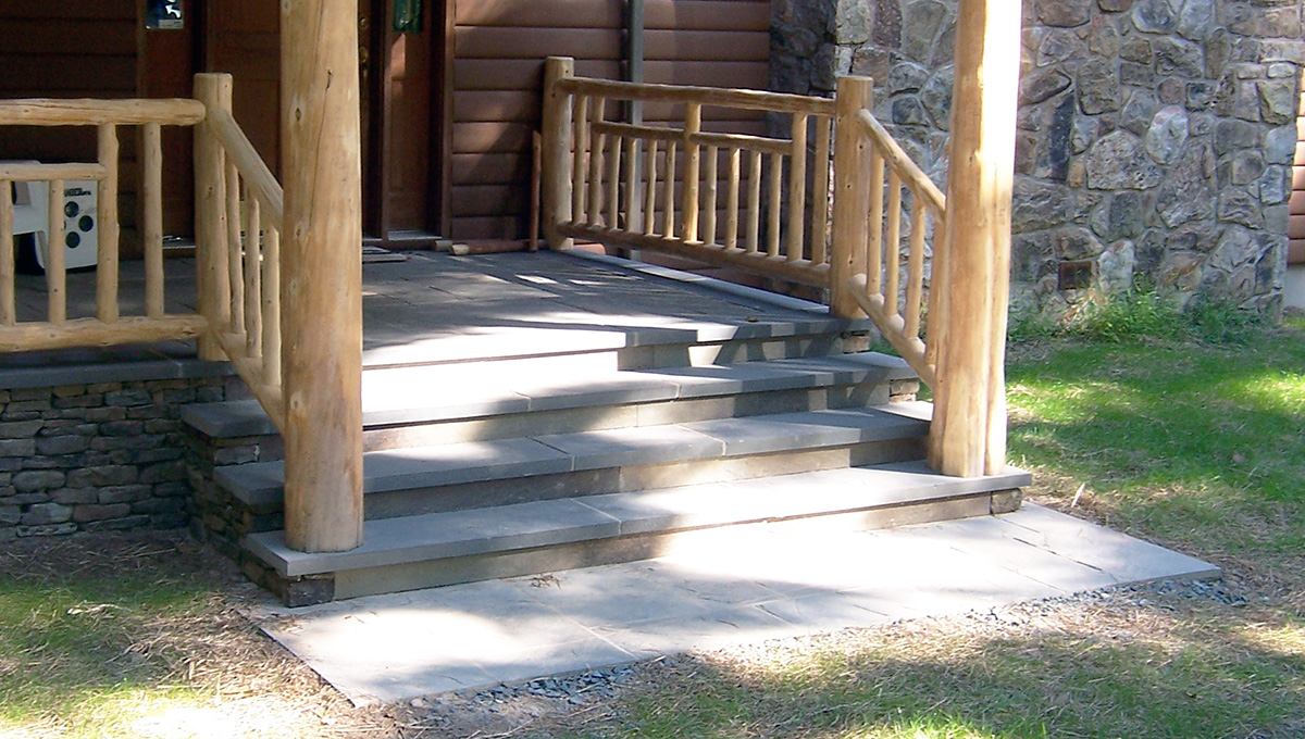 Bluestone Entry Steps Sullivan County NY