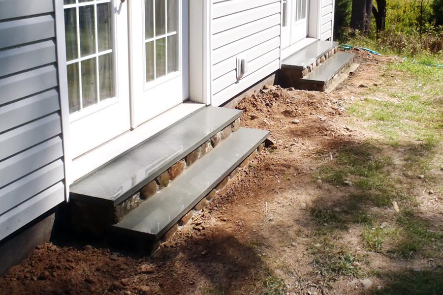 Bluestone Steps Fieldstone Veneer Barryville Sullivan County NY