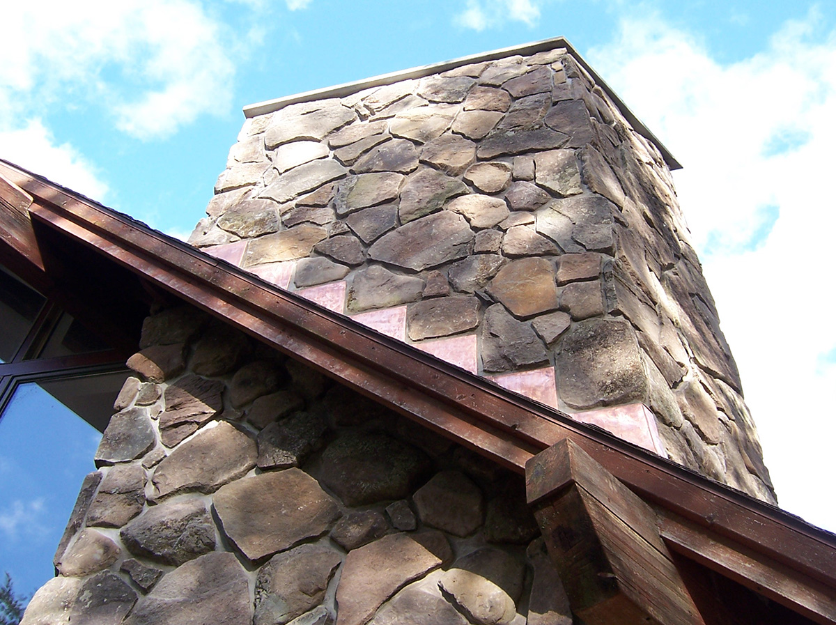 Fireplace Stone Chimney Veneer Bethel NY Sullivan County