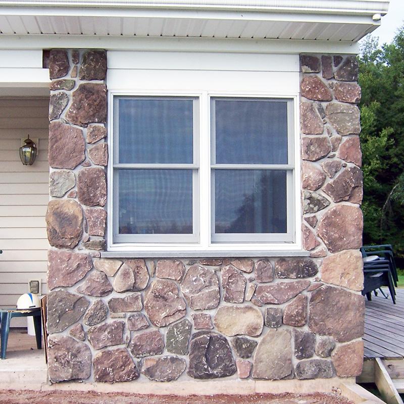Vertical Fieldstone Home NY Sullivan County NY
