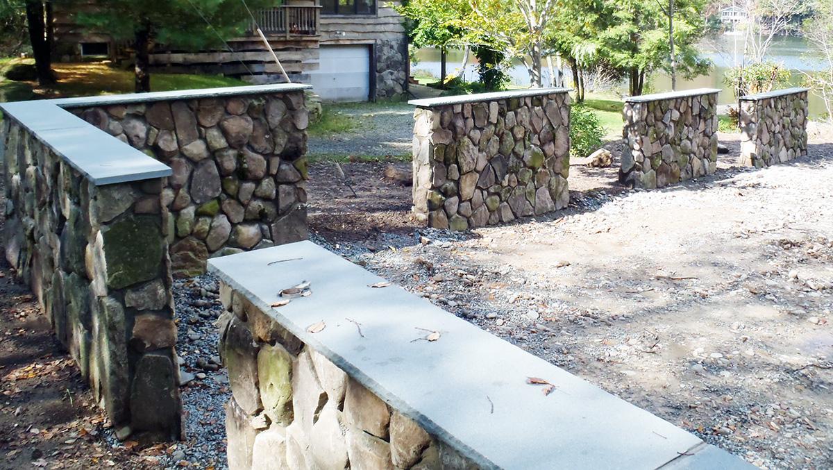 Stone Veneer Walls Sullivan County NY