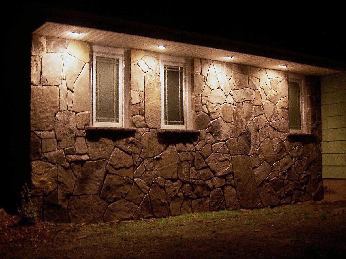 Stone Veneer Facade Home Sullivan County NY