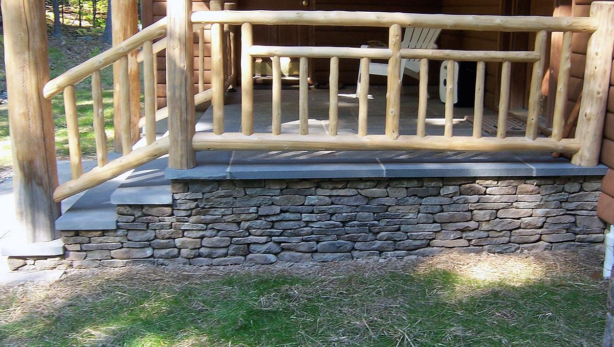 Stone Veneer Bluestone Landing Sullivan County NY