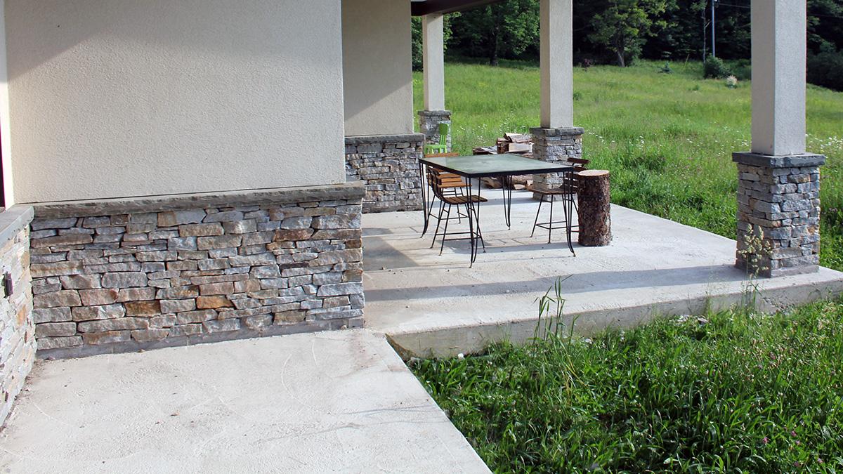 Stone Veneer & Columns Sullivan County NY