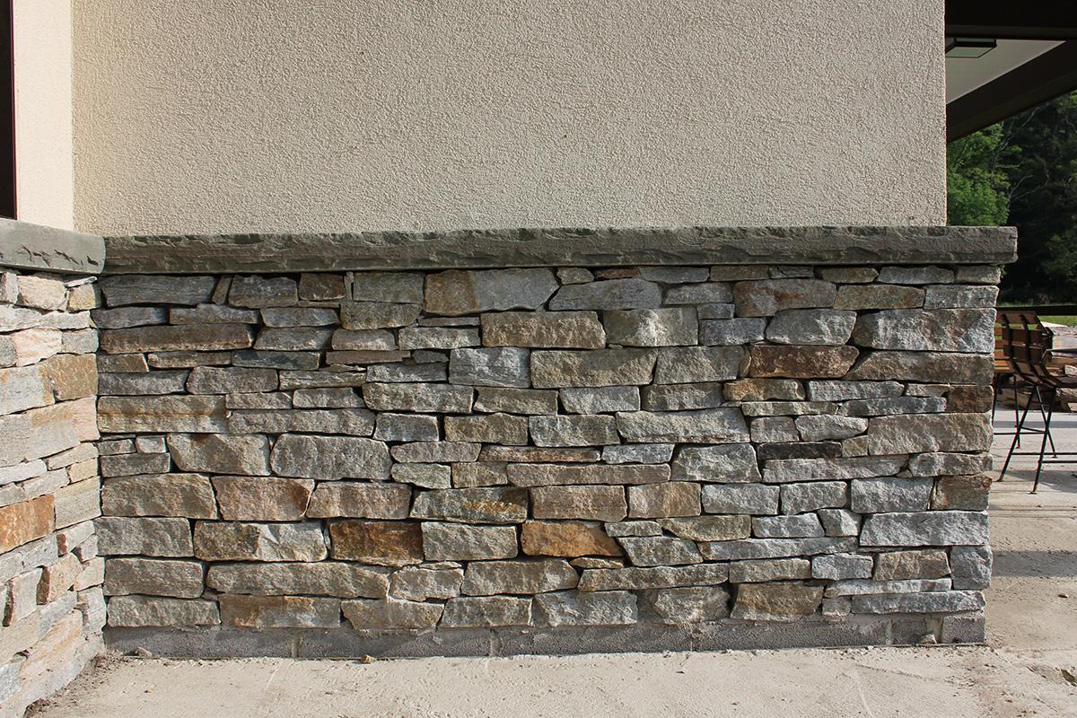 Stone Veneer Bluestone Sill Sullivan County NY