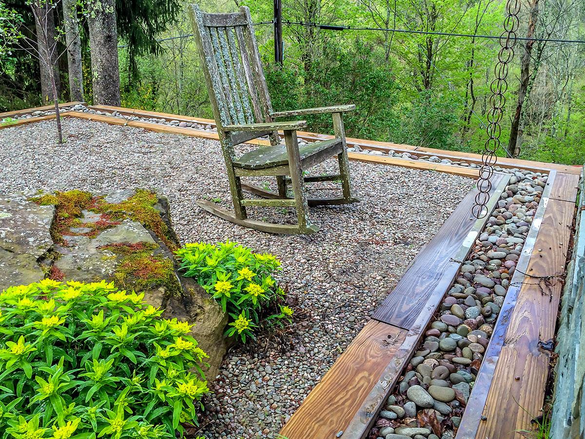 Stone Zen Garden Callicoon Center NY Sullivan County