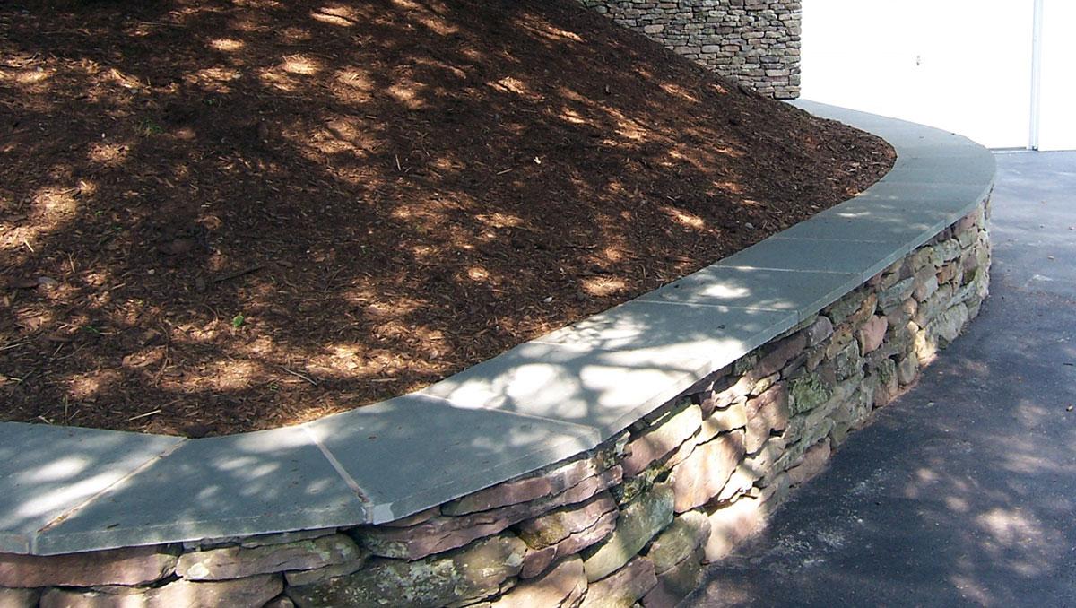 Rustic Stone Wall Bethel NY Sullivan County