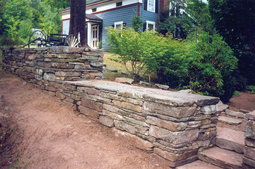 Stepped Stone Wall Sullivan County NY