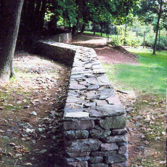 Freestanding Stone Wall Estate Sullivan County NY