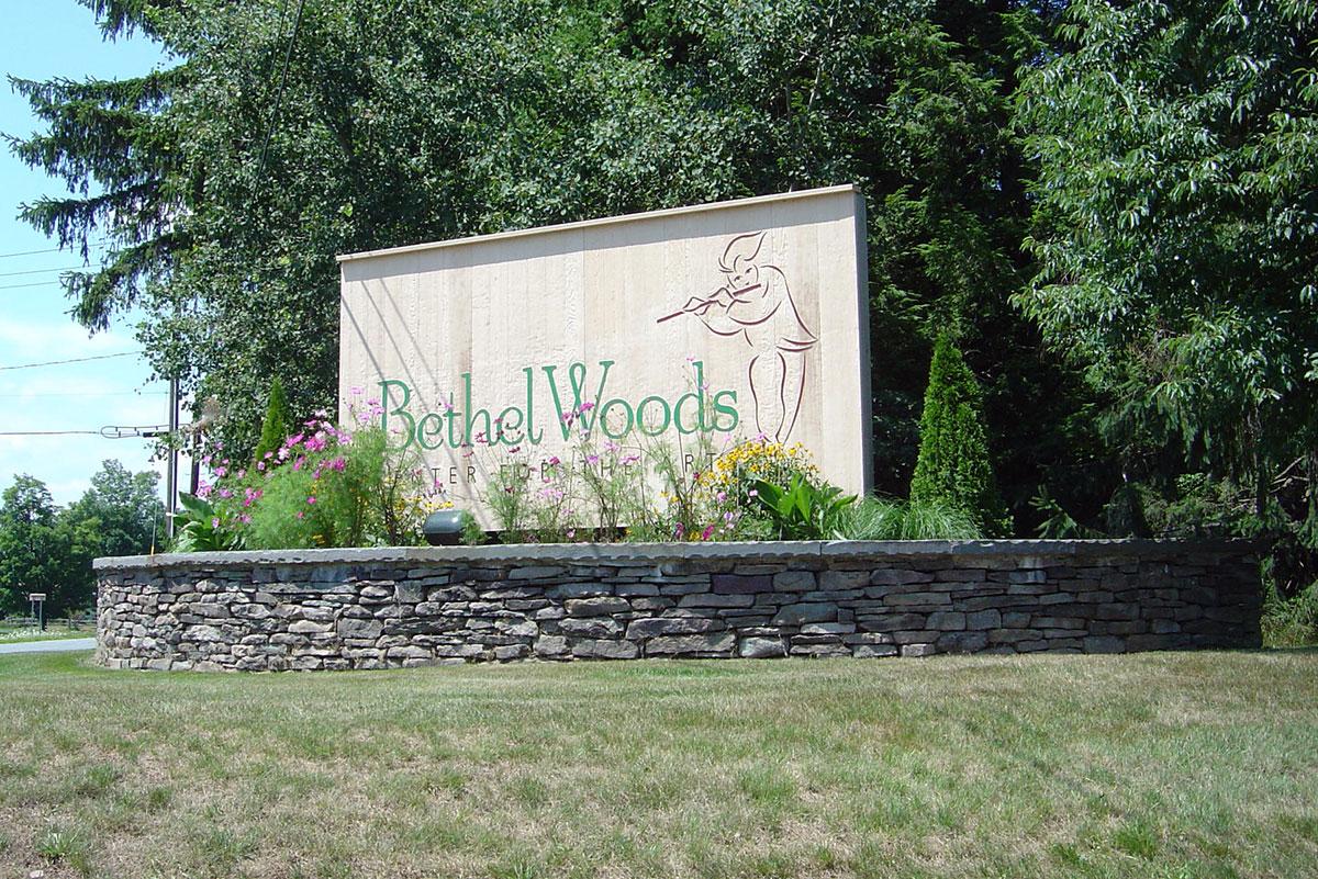 Stone Wall Bethel Woods Sullivan County NY
