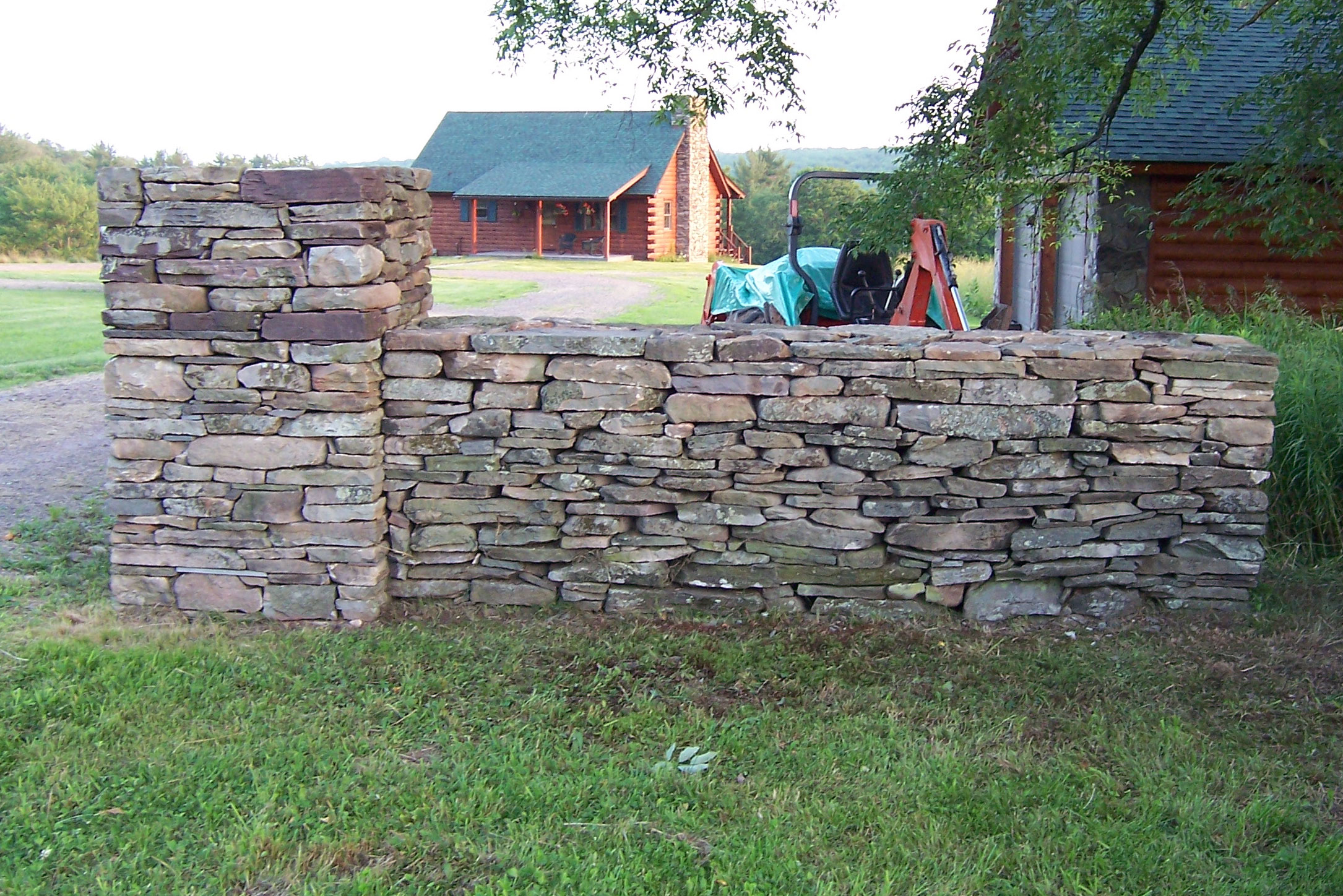Fieldstone Wall Liberty Sullivan County NY