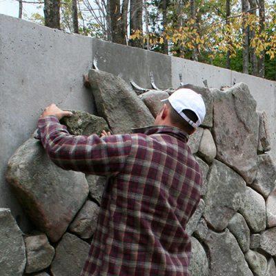 Vertical Fieldstone Application Liberty, NY