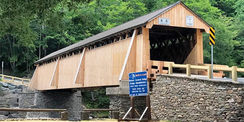 Beaverkill Covered Bridge Rehabilitation, Town of Rockland, NY